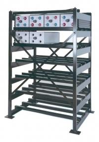 Аккумуляторный стеллаж 1-2-2E-PGL2-PGU1-652-1200